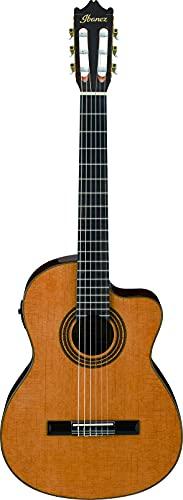 IBANEZ Konzertgitarre mit Cutaway 6-Saiter - Amber High Gloss (GA6CE-AM)