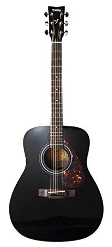 Yamaha F370 Westerngitarre schwarz - Hochwertige Dreadnought-Akustikgitarre für Erwachsene & Jugendliche - 4/4 Gitarre aus Holz