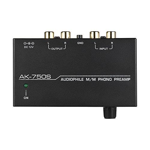 Muslady Vorverstärker Phono-Vorverstärker Audiophile M / M. mit Niveau Kontrollen RCA-Eingang & Ausgabe Schnittstellen