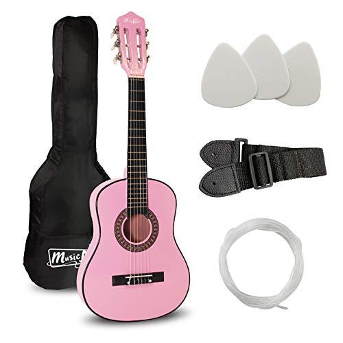 Musik Alley klassische akustische Gitarre Kinder Gitarre & Junior-Gitarre rosa