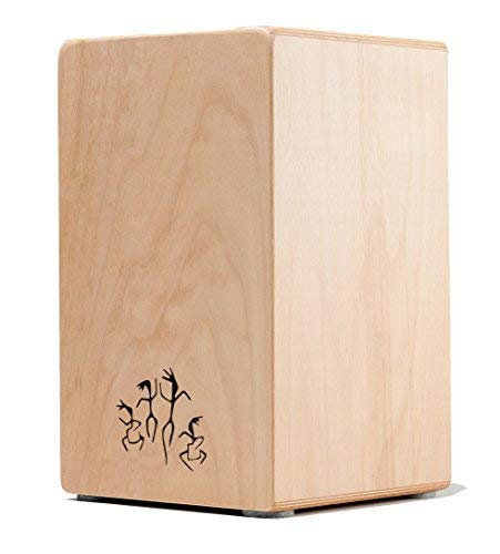 Cajon 'ROCK/POP' Large, Trommel für Einsteiger, made in GERMANY incl. Kurzlehrgang