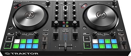 Native Instruments Traktor Kontrol S2 MK3 2-Kanal DJ Controller, 16 Pads, integrierte Soundkarte, Traktor Pro 3