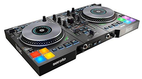 Hercules DJ Control Jogvision (2-Deck DJ Controller, Air Control, 8 Performance-Pads, Audio In/Out, Serato DJ Lite, PC / Mac)