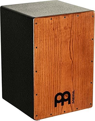 Meinl Percussion Headliner Cajon Instrument/Trommel für Kinder und Erwachsene, Trommelkiste (Drumbox) mit Snare- und tiefen Bass-Sound - Kein Cajon Bausatz - American White Ash Frontplatte (HCAJ1AWA)