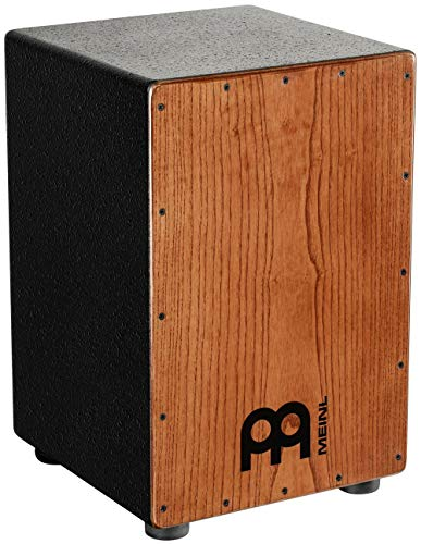 Meinl Percussion HCAJ1AWA Headliner Series String Cajon, Frontplatte: Stained American White Ash, mittlere Größe