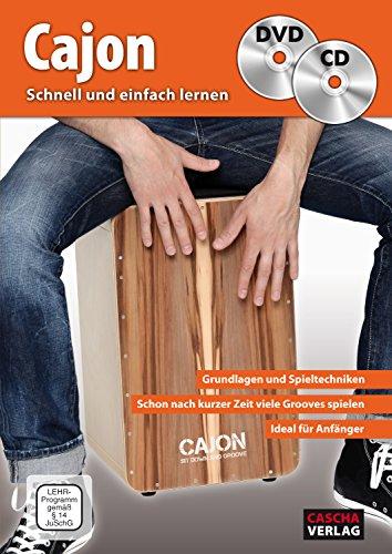 CASCHA Cajon - Schnell und einfach lernen + CD + DVD: Schneller Lernerfolg durch Lernvideos und Playbacks über QR-Code